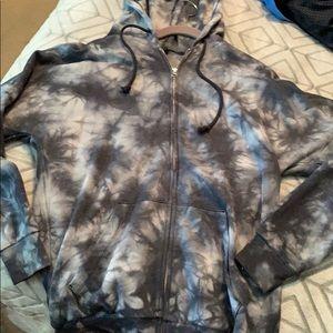 Women's wild fable tie dye jacket